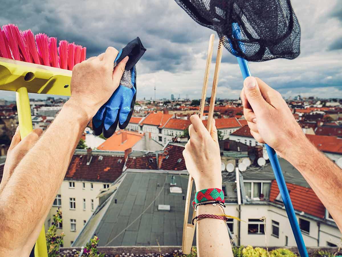 Alle gemeinsam für eine saubere Stadt