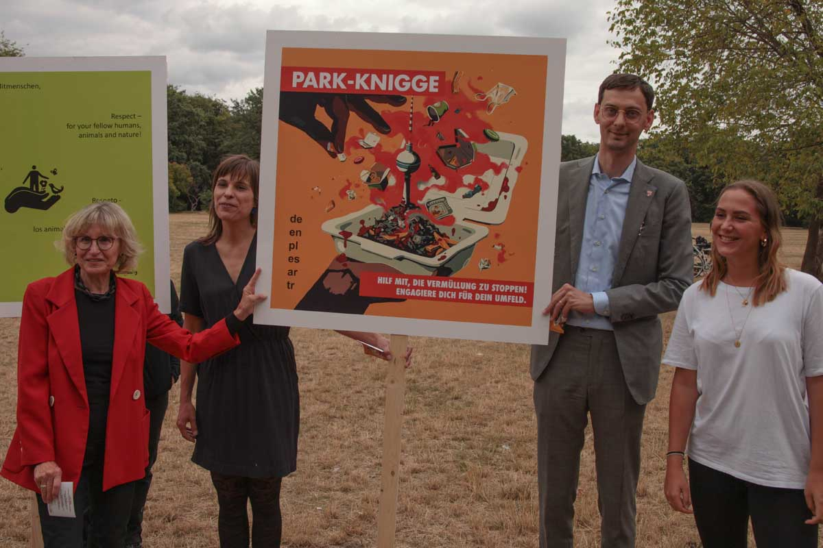 Park-Knigge – Kick-Off-Event