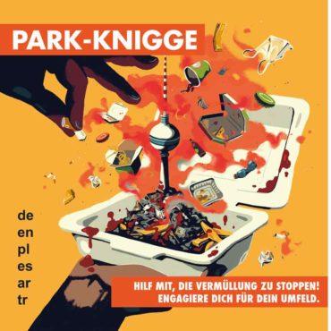 Anti-Littering mit Park-Knigge Heft