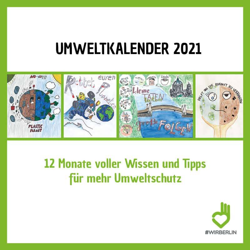 Umwelt Kalender 2021