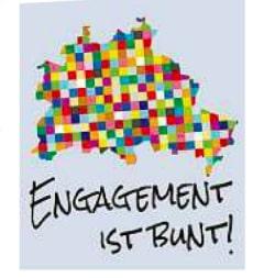 Werbung Engagement ist bunt
