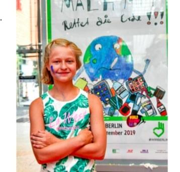 1. Platz beim Plakatwettbewerb 2019