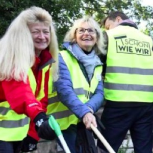 Gemeinsames Cleanup Berlin 2019
