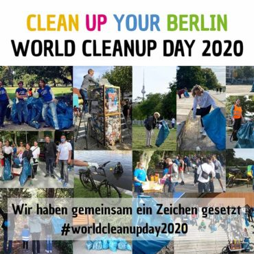 World Cleanup Day Berlin 2020