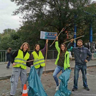 Ploetzensee Cleanup WCD 2021