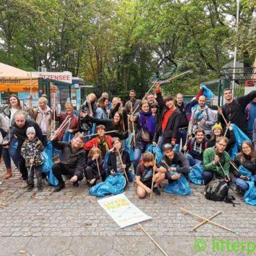Ploetzensee Cleanup Gruppenbild WCD 2021