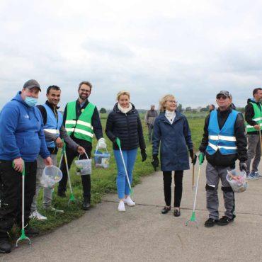 Tempelhofer Feld WCD 2021 Cleanup 3