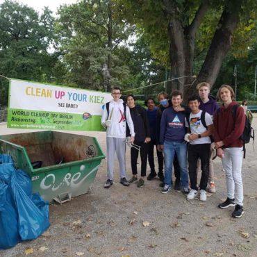 Tiergarten WCD 2021 Cleanup