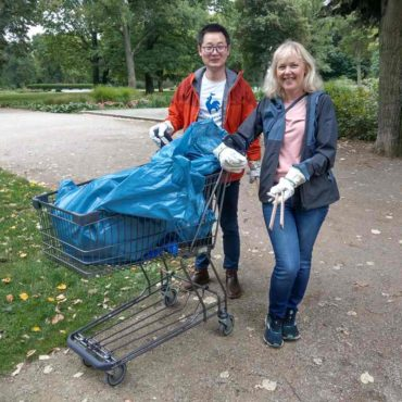 Treptower Park WCD 2021 Cleanup