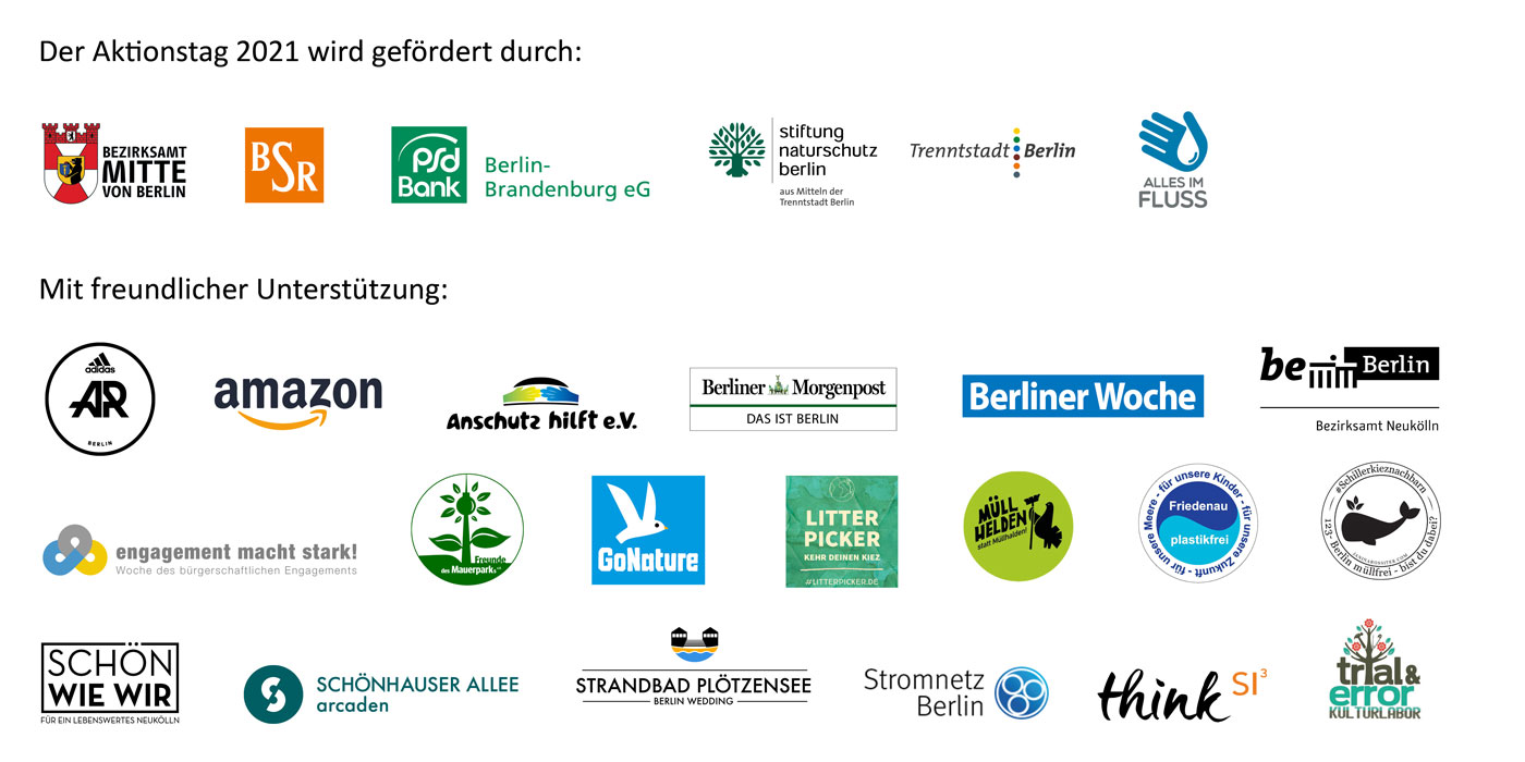 World Cleanup Day Berlin 2021 Partner