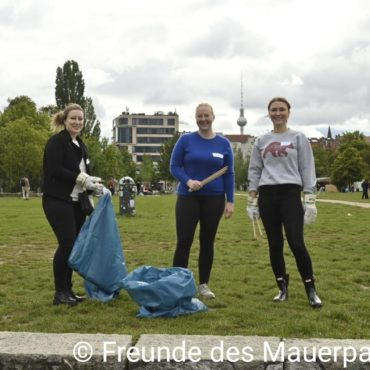 Mauerpark Cleanup WCD 2021